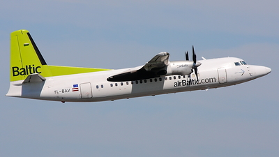 YL-BAV - Fokker 50 - Air Baltic