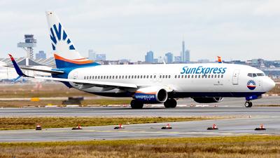 A picture of DADAB - Boeing 7378HC - SunExpress - © Kosmopoliks