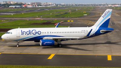 VT-IFY - Airbus A320-232 - IndiGo Airlines