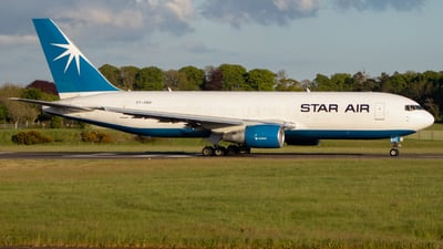 A picture of OYSRH - Boeing 767204(BDSF) - Star Air - © Luke Wilson 729