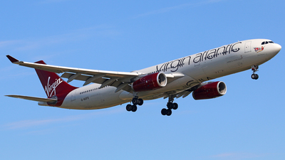 G-VUFO - Airbus A330-343 - Virgin Atlantic Airways