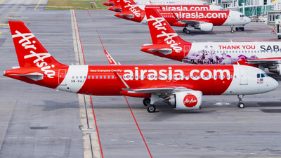 A picture of 9MRAJ - Airbus A320251N - AirAsia - © Nigel Shim