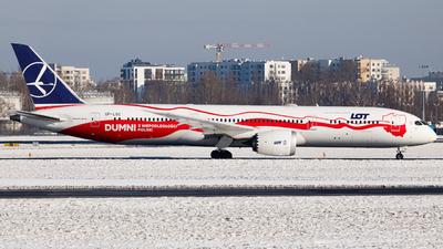 A picture of SPLSC - Boeing 7879 Dreamliner - LOT - © Kuba Kawczynski