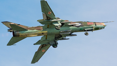 9616 - Sukhoi Su-22M4 Fitter K - Poland - Air Force