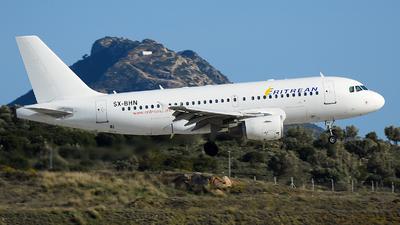 SX-BHN - Airbus A319-112 - Eritrean Airlines