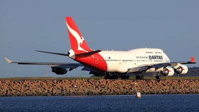 VH-OEI - Boeing 747-438ER - Qantas