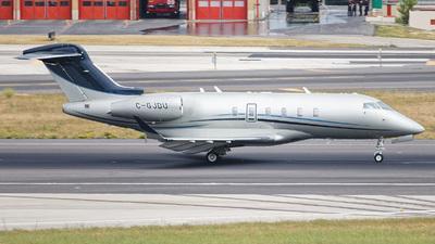 C-GJDU - Bombardier BD-100-1A10 Challenger 350 - Private