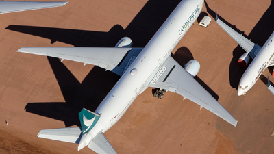 A picture of BHNU - Boeing 77731H - Cathay Pacific - © CATHAY246