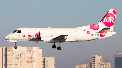 SP-KPZ - Saab 340A(F) - SprintAir
