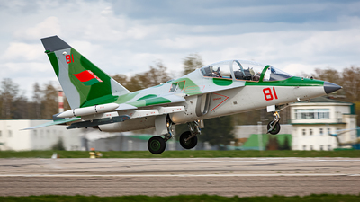 81 - Yakovlev Yak-130 - Belarus - Air Force