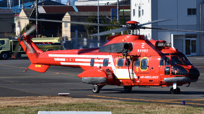 JA119B - Aérospatiale AS 332L1 Super Puma - Japan - Tokyo Fire Department