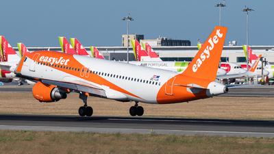 OE-IJA - Airbus A320-214 - easyJet Europe