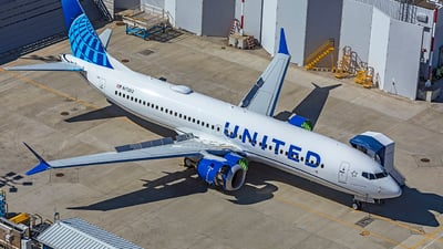 N17262 - Boeing 737-8 MAX - United Airlines