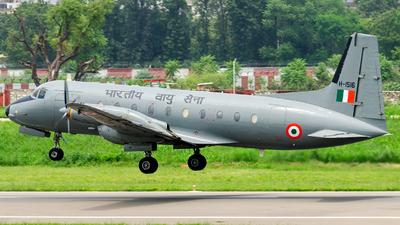 H1516 - Hindustan Aeronautics HAL-748 - India - Air Force