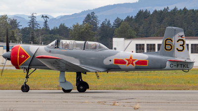 C-FTKL - Nanchang CJ-6A - Private