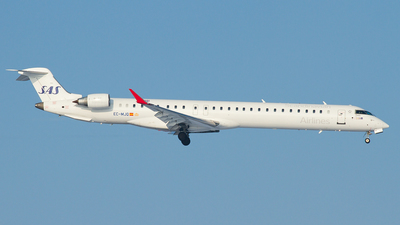 EC-MJQ - Bombardier CRJ-1000 - Scandinavian Airlines (SAS) (Air Nostrum)
