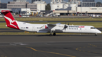 VH-LQF - Bombardier Dash 8-Q402 - QantasLink (Sunstate Airlines)