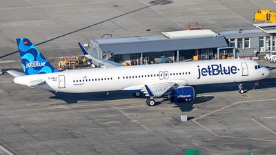 D-AZAJ - Airbus A321-271NX - jetBlue Airways
