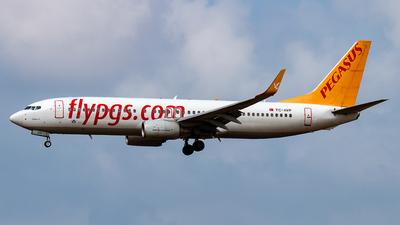 TC-AVP - Boeing 737-82R - Pegasus Airlines