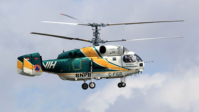 C-FIGR - Kamov Ka-32A-11BC - BNPB - Indonesian National Board for Disaster Management