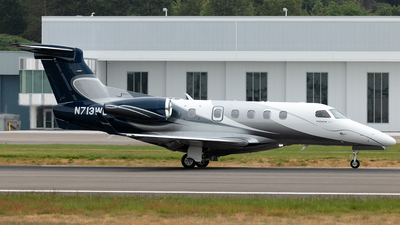 N713WD - Embraer 505 Phenom 300 - Private