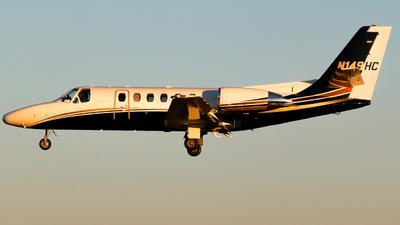 N149HC - Cessna 550 Citation II - Private