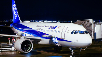 JA213A - Airbus A320-271N - All Nippon Airways (ANA)