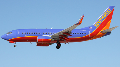 N470WN - Boeing 737-7H4 - Southwest Airlines