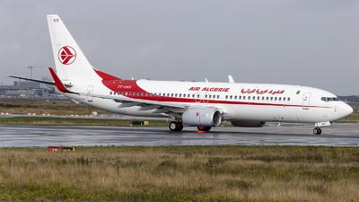 A picture of 7TVKR - Boeing 7378D6 - Air Algerie - © Loredana Cioclei