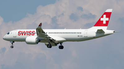 A picture of HBJCK - Airbus A220300 - Swiss - © Michael Musil