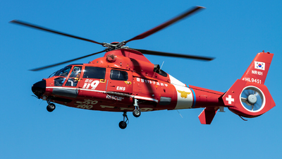 HL9451 - Eurocopter AS 365N2 Dauphin - South Korea - National 119 Rescue Headquarters