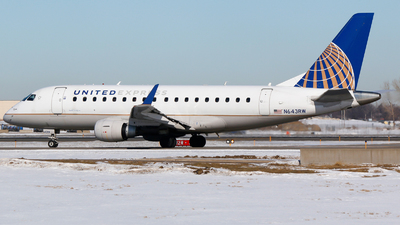 A picture of N643RW - Embraer E170SE - United Airlines - © Alec Mollenhauer
