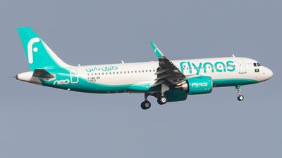 F-WWBQ - Airbus A320-251N - Flynas
