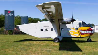 OE-FDK - Short SC-7 Skyvan 3-100 - Pink Aviation