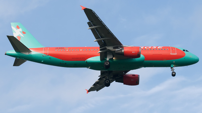 UR-WRK - Airbus A320-212 - Windrose Airlines