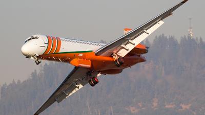 N293EA - McDonnell Douglas MD-87 - Erickson Aero Tanker