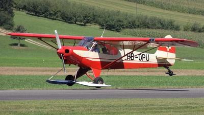 HB-OPU - Piper PA-18-150 Super Cub - Private