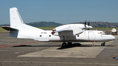 ZS-PEL - Antonov An-32B - Valan International Cargo Charter