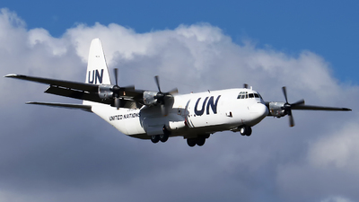 ZS-OPS - Lockheed L-100-30 Hercules - United Nations (Safair)