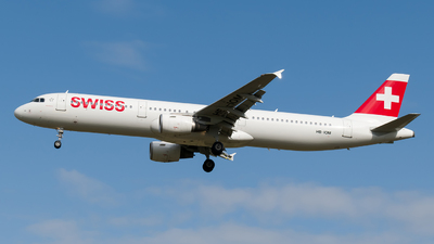 A picture of HBIOM - Airbus A321212 - Swiss - © Boryspil Spotter