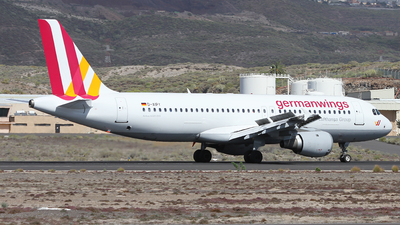 D-AIPY - Airbus A320-211 - Germanwings