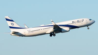 4X-EHI - Boeing 737-958ER - El Al Israel Airlines