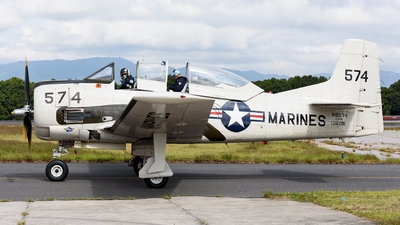 N8574 - North American T-28B Trojan - Private