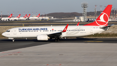 A picture of TCJVR - Boeing 7378F2 - Turkish Airlines - © Firat Cimenli