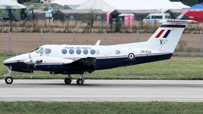 ZK459 - Beechcraft B200GT Super King Air - United Kingdom - Royal Air Force (RAF)