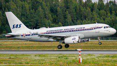 A picture of OYKBO - Airbus A319132 - SAS - © Adrian Olstad