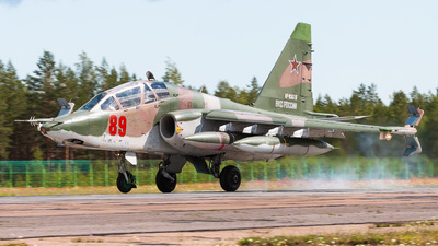 RF-93616 - Sukhoi Su-25UB Frogfoot - Russia - Air Force
