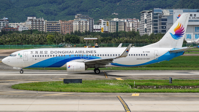 A picture of B7100 - Boeing 7378Q8 - Donghai Airlines - © Ng Kwan Lok