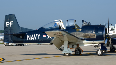 N555PF - North American T-28B Trojan - Private