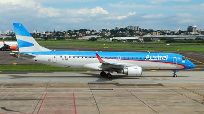 LV-CKZ - Embraer 190-100IGW - Austral Líneas Aéreas